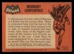 1966 Topps Batman Black Bat #4 BLK  Midnight Conference Back Thumbnail