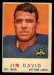 1959 Topps #143  Jim David  Front Thumbnail