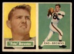 1957 Topps #40  Pete Brewster  Front Thumbnail