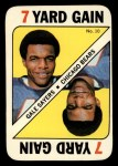 1971 Topps Game Inserts #10  Gale Sayers  Front Thumbnail