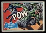 1966 Topps Batman Blue Bat Back #29 BLU  Wretched Riddle Front Thumbnail