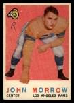 1959 Topps #164  John Morrow  Front Thumbnail