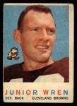 1959 Topps #169  Junior Wren  Front Thumbnail