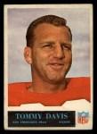 1965 Philadelphia #174  Tommy Davis   Front Thumbnail