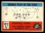 1965 Philadelphia #112   -  Norm Van Brocklin Minnesota Vikings Front Thumbnail