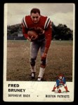1961 Fleer #183  Fred Bruney  Front Thumbnail