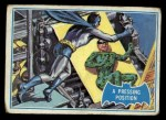 1966 Topps Batman Blue Bat Back #36 BLU  Pressing Position Front Thumbnail