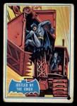 1966 Topps Batman Blue Bat Back #30 BLU  Jostled by the Joker Front Thumbnail