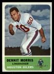 1962 Fleer #53  Dennit Morris  Front Thumbnail