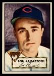 1952 Topps #184 CRM Bob Ramazzotti  Front Thumbnail