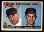 1965 Topps #409   -  Larry Dierker / Jim Beauchamp Astros Rookies Front Thumbnail