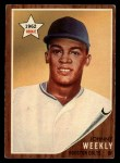 1962 Topps #204  Johnny Weekly  Front Thumbnail