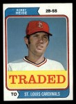 1974 Topps Traded #51 T  -  Bob Heise Traded Front Thumbnail