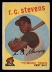 1959 Topps #282  R.C. Stevens  Front Thumbnail