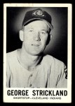 1960 Leaf #30  George Strickland  Front Thumbnail