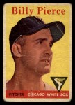 1958 Topps #50 ^WT^ Bill Pierce  Front Thumbnail