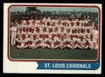 1974 Topps #36   Cardinals Team Front Thumbnail