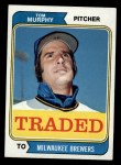 1974 Topps Traded #496 T Tom Murphy  Front Thumbnail