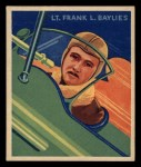 1933 National Chicle Sky Birds #24   Lieut. Frank Bylies Front Thumbnail