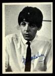 1964 Topps Beatles Black and White #94  Paul McCartney  Front Thumbnail