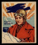 1933 National Chicle Sky Birds #29 A Floyd Bennett   Front Thumbnail
