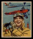 1933 National Chicle Sky Birds #43 A Juan De La Cierva   Front Thumbnail