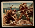 1950 Topps Freedoms War #162   Digging for Safety  Front Thumbnail