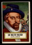 1952 Topps Look 'N See #81  Sir Walter Raleigh  Front Thumbnail