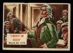 1954 Topps Scoop #146   Liberty Or Death Front Thumbnail