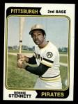 1974 Topps #426  Rennie Stennett  Front Thumbnail