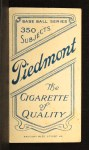 1909 T206  Frank Oberlin  Back Thumbnail