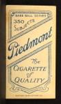 1909 T206 #79  Gavvy Cravath  Back Thumbnail