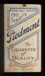 1909 T206  Frank Bowerman  Back Thumbnail
