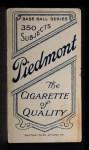 1909 T206 SHR Carlos Smith  Back Thumbnail