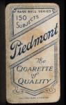 1909 T206 NY Joe Lake  Back Thumbnail