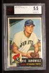 1953 Topps #222  Vic Janowicz  Front Thumbnail