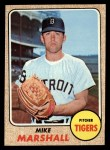 1968 Topps #201  Mike Marshall  Front Thumbnail