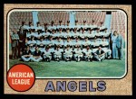 1968 Topps #252   Angels Team Front Thumbnail