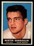 1961 Topps #192  Austin Goose Gonsoulin  Front Thumbnail