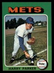 1975 Topps Mini #214  Harry Parker  Front Thumbnail