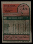 1975 Topps Mini #218  Jerry Johnson  Back Thumbnail