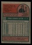 1975 Topps Mini #220  Don Sutton  Back Thumbnail