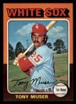 1975 Topps Mini #348  Tony Muser  Front Thumbnail