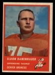 1963 Fleer #84  Eldon Danenhauer  Front Thumbnail