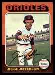 1975 Topps Mini #539  Jesse Jefferson  Front Thumbnail