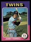 1975 Topps Mini #654  Jerry Terrell  Front Thumbnail