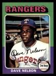 1975 Topps Mini #435  Dave Nelson  Front Thumbnail