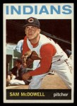 1964 Topps #391  Sam McDowell  Front Thumbnail