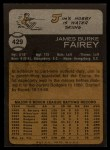 1973 Topps #429  Jim Fairey  Back Thumbnail