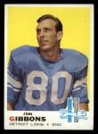1969 Topps #189  Jim Gibbons  Front Thumbnail